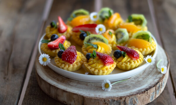 Tartellette alla frutta senza glutine