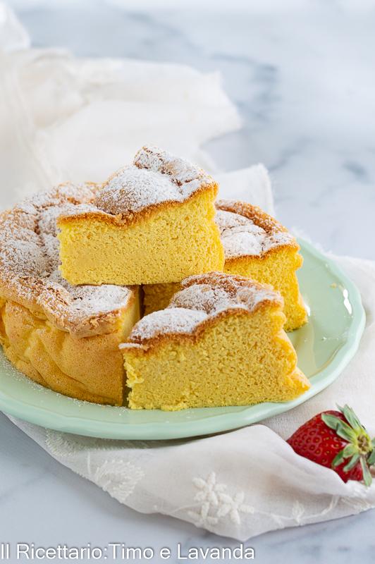 Japanese cotton sponge cake