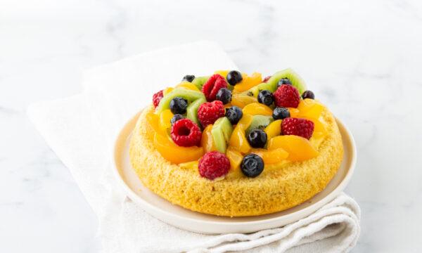 Crostata morbida di frutta senza glutine