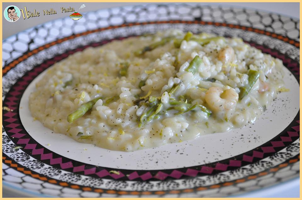 Ricetta bimby Risotto asparagi e gamberetti