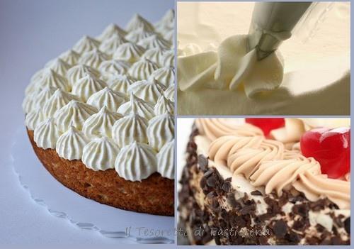 Come decorare le torte con panna montata