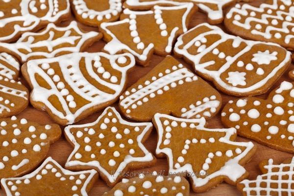 Biscotti Di Natale Al Miele.Biscotti Al Miele Fantasia Di Natale Il Tesoretto Di Pasticceria