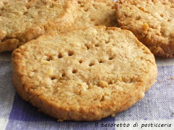 Biscottini digestive fatti in casa