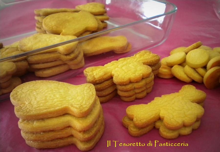 Biscotti a formine con farina di ceci