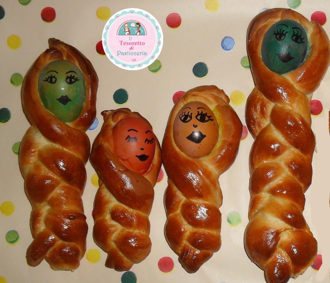 Bambole dolci pasquali