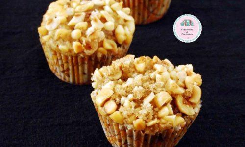 Muffins alle nocciole e cioccolato