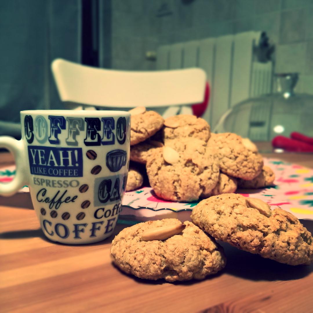 Avena - Cookies di Avena & Mandorle