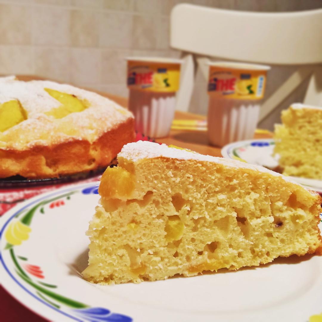 Pesche - Torta di Ricotta & Pesche
