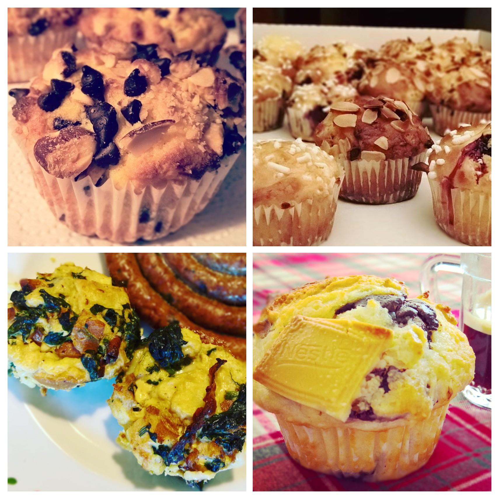 Raccolte - Muffins Dolci & Salati