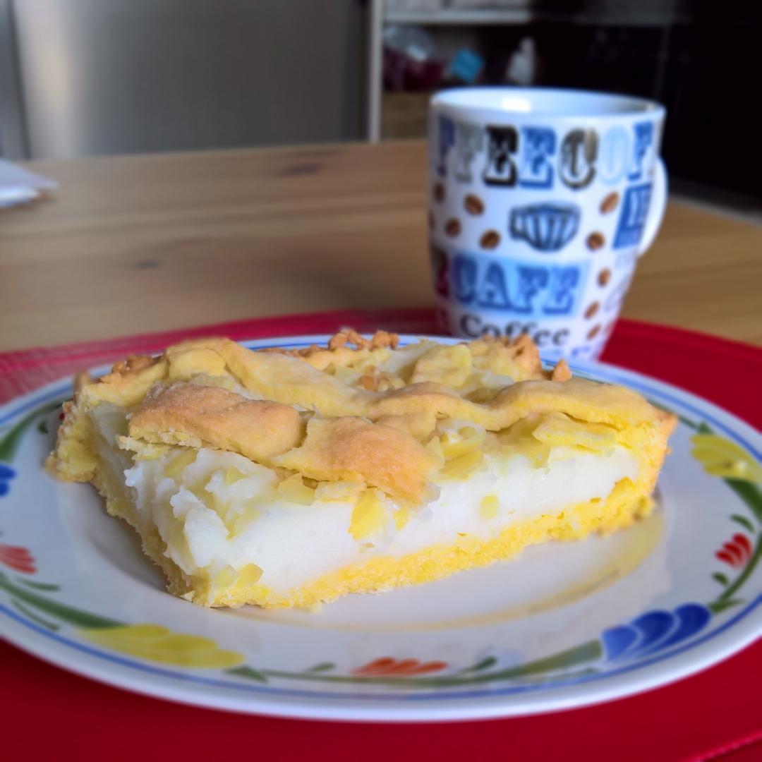 Latte - Crostata con Crema al Latte