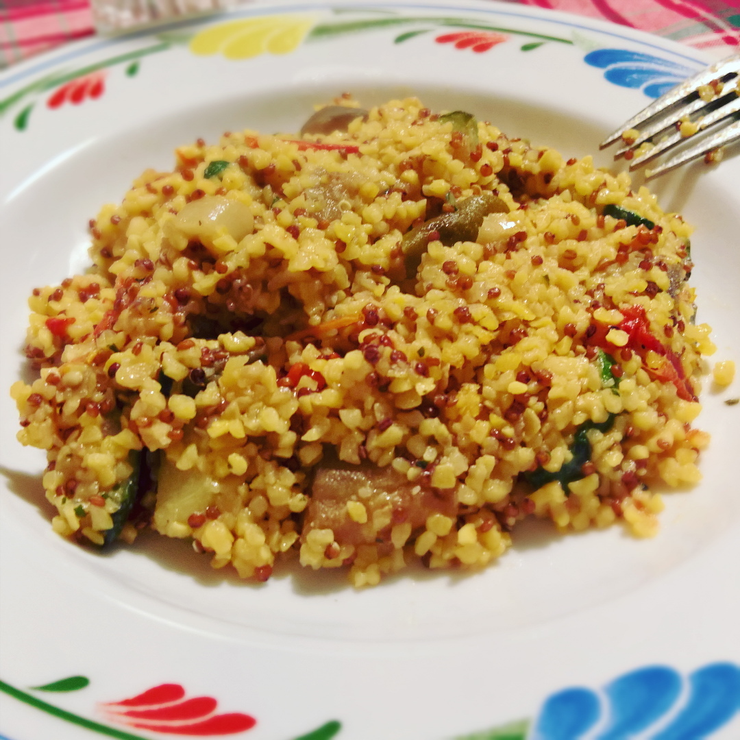 Quinoa - Mais & Quinoa con Verdure