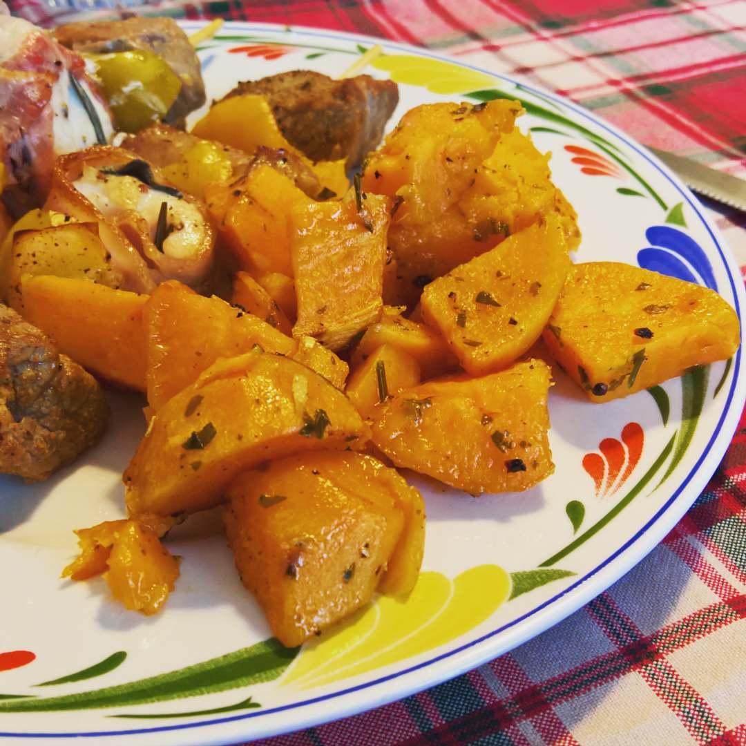 Patate dolci patate americane con miele zenzero il for Patate dolci americane