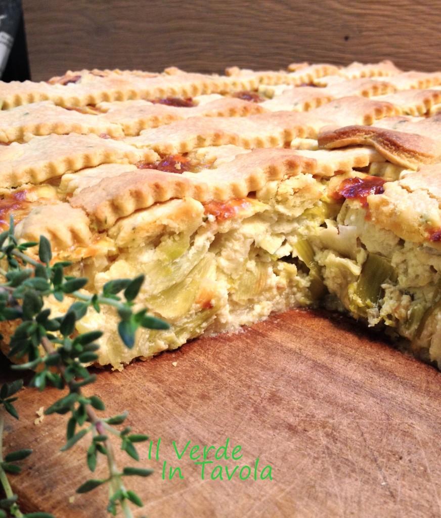Cheesecake ai porri con brisèe al timo nuovo blog