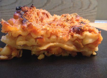 Lasagne vegane con ragù di tempeh