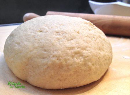 Pasta frolla vegana al profumo di nocciole
