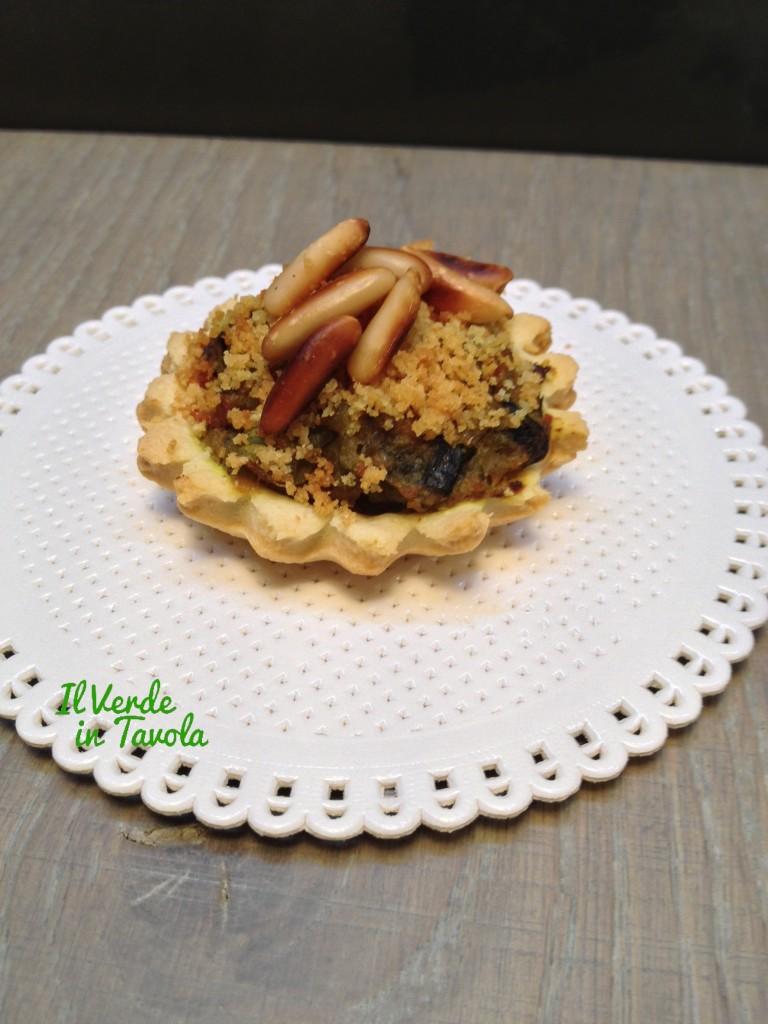 Tartellette vegan con pasta Brisee1VT