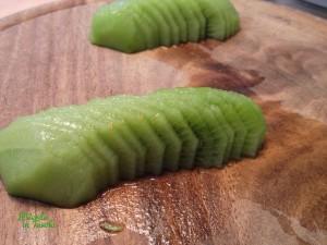 Tartellette vegane ai kiwi