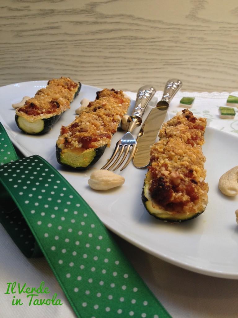 Zucchine ripiene vegane14