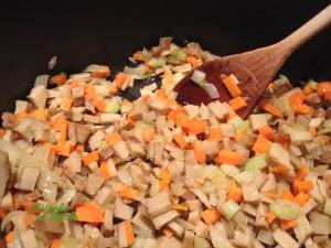 Conchiglioni al forno vegani al ragù di seitan10