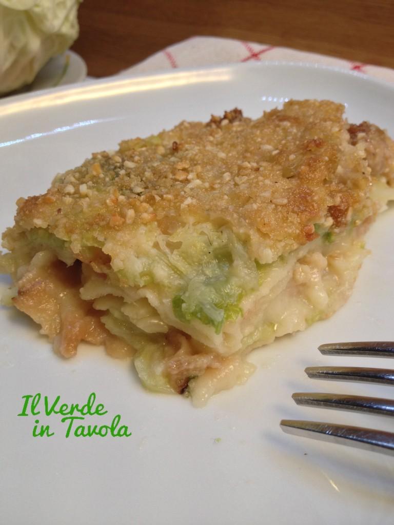 lasagne vegane di pane Guttiau, verza e bocconcini di soia12