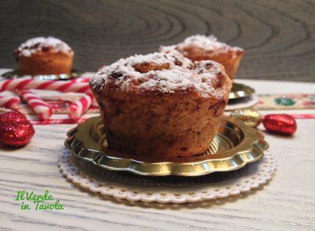 Muffin vegani con mele e spezie