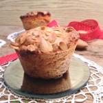 muffin vegani mandorle e cuor di pesca2