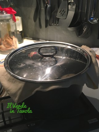 Polenta taragna senza mescolare