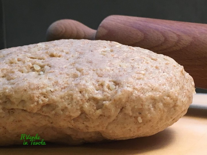 Pastafrolla salata integrale al parmigiano