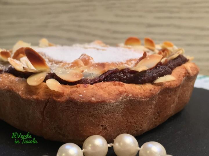 crostata mandorle e crema al cioccolato3