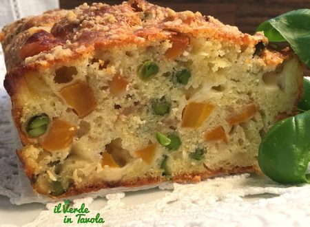 Plumcake verdure e provolone