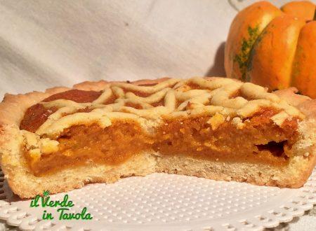 Mini pumpkin pie vegane