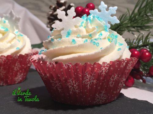 Winter cupcakes alle pere, con mela e cannella – videoricetta