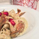 maltagliati-di-lenticchie-su-fonduta-di-fontina-e-carciofi1