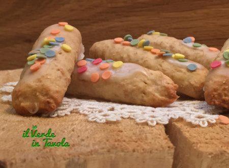 Biscotti vegani alla vaniglia con pasta madre