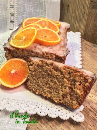 Plumcake vegano all'arancia