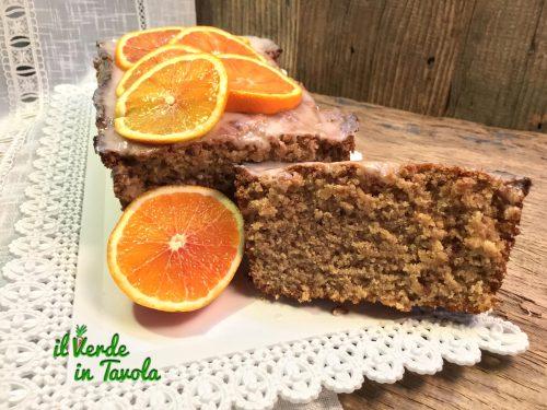 Soffice e profumato plumcake vegano all'arancia – videoricetta