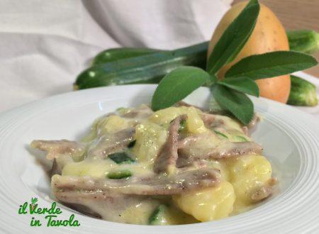 Pizzoccheri con zucchine e patate – videoricetta