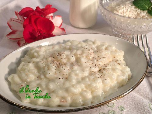 Riso e latte, primo piatto tipico lombardo