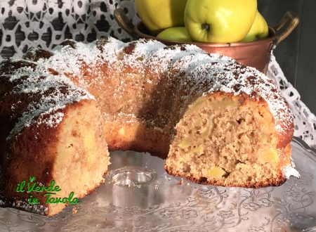 Ciambella light con yogurt e mele