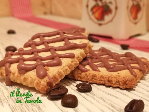 Biscotti di frolla integrale al caffè con Lievito Madre la ricetta