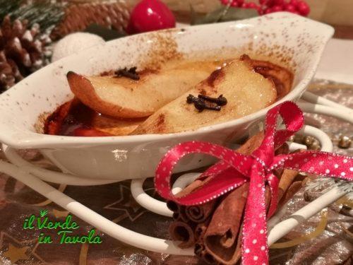Pere alle spezie cotte al forno la ricetta