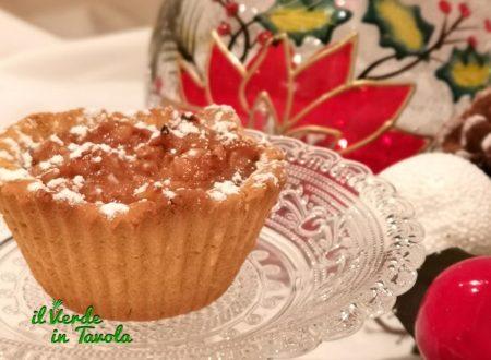 Tartellette vegan e gluten free con pere cannella e noci la ricetta