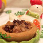 Tartellette vegan e gluten free con pere e cioccolato