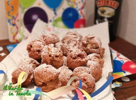 Castagnole di Carnevale fritte al profumo di Baileys e cioccolato la ricetta