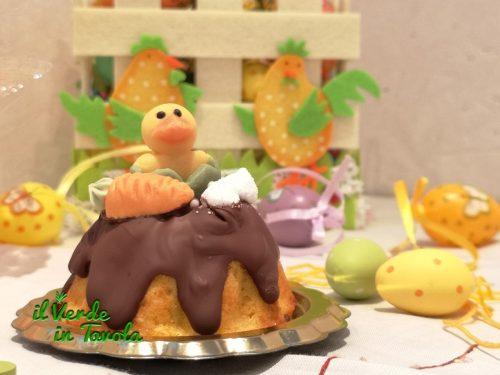 Ciambelline di Pasqua alle carote, mele e pere la ricetta