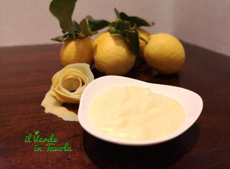 Crema di limone vellutata e senza grumi la ricetta