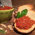 Pesto di pomodori secchi a modo mio