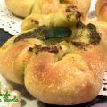Fiori di pane al LM con emmental e pesto - videoricetta