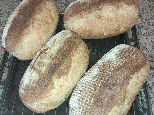 Pane misto farina tipo 1 e semola