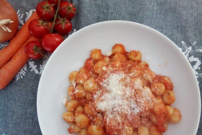 Gnocchetti di patate al pomodoro